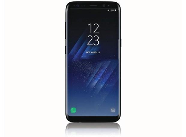 Смартфон Samsung Galaxy S8 вновь позирует на живых