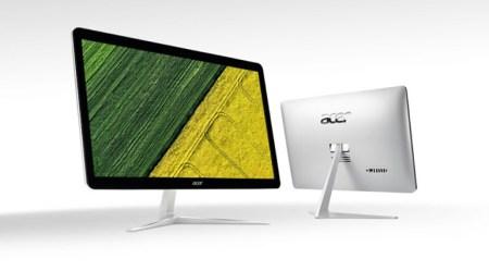 Acer анонсировала несколько новых моноблоков и ноутбуков серии Aspire