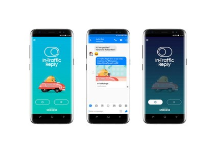 Samsung анонсировала Android-приложение In-Traffic Reply, которое не даст отвлекаться на смартфон при вождении