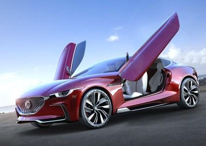 Электросуперкар MG E-Motion с разгоном до 100 км/ч за 4 секунды и запасом хода 500 км может получить серийную версию с ценником менее $40 тыс. уже в 2020 году