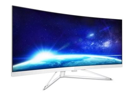 Philips 349X7FJEW X Line — 34-дюймовый изогнутый UltraWide-монитор с Quad HD разрешением за 25000 грн