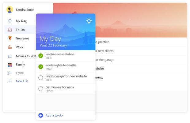Microsoft To Do — замена популярного планировщика задач Wunderlist