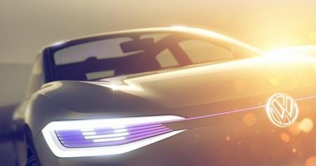 Volkswagen покажет на автосалоне в Шанхае концепт самоуправляемого электрического кроссовера