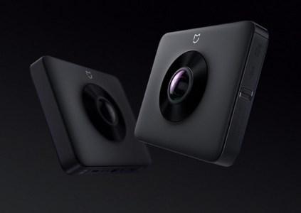 Представлена панорамная камера Xiaomi Mi 360° Panoramic стоимостью $246
