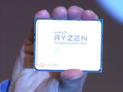 Процессор AMD Ryzen Threadripper запечатлен на фото [Computex 2017]