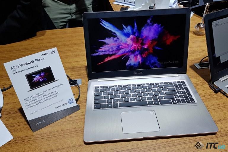 [Computex 2017] ASUS VivoBook S15 и ASUS VivoBook Pro 15: каждому по потребностям