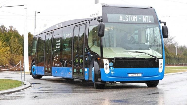 В июне на улицы Парижа выйдет необычный электробус от Alstom