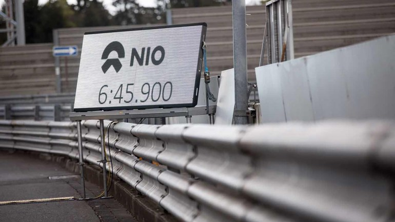 Китайский электрический гиперкар NIO EP9 побил рекорд трассы Nurburgring Nordschleife для серийных автомобилей [видео]
