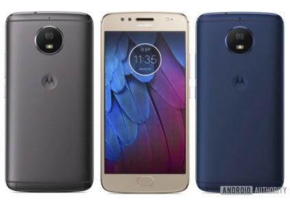 Официальные изображения смартфона Moto G5S позволяют полноценно оценить его внешность