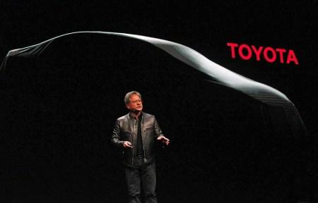 Платформа NVIDIA DRIVE PX послужит основой для будущих самоуправляемых автомобилей Toyota
