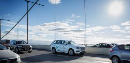 Volvo собирается создать коммерческую систему автопилотирования на основе платформы NVIDIA Drive PX2 уже к 2021 году