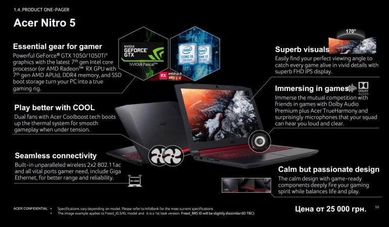 Acer предлагает готовиться к back-to-school