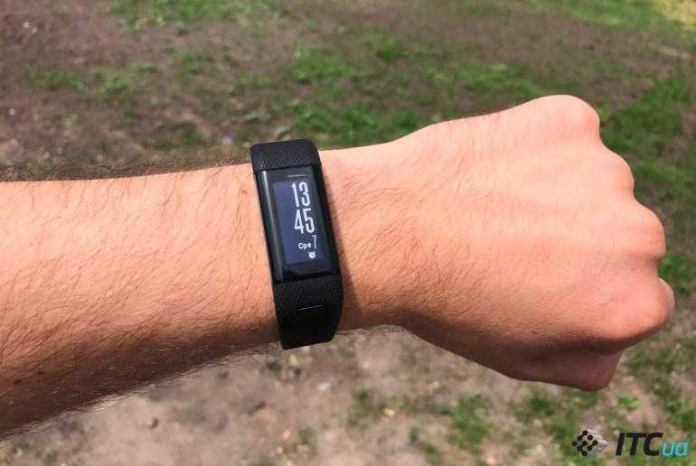 Экспресс-обзор фитнес-браслета Garmin Vivosmart HR+ с GPS