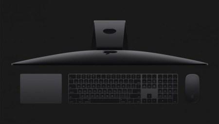 В профессиональном моноблоке iMac Pro нельзя самостоятельно заменить/увеличить ОЗУ, фирменные клавиатура и мышь в цвете Space Gray отдельно продаваться не будут