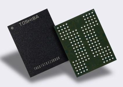Toshiba разработала многослойную флэш-память QLC, которая может хранить 4 бита данных в ячейке