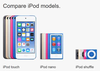 Конец эпохи: Apple «убила» плееры iPod nano и iPod shuffle, оставив любителям музыки только iPod touch