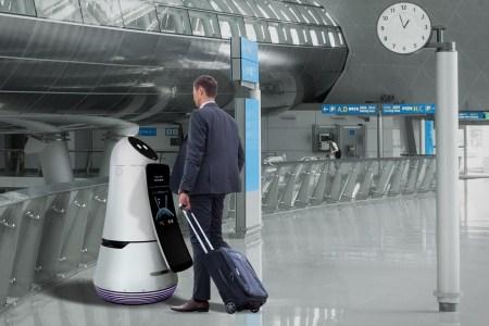LG начала тестировать коммерческих роботов-ассистентов и роботов-уборщиков в международном аэропорту Сеула