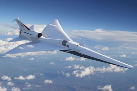NASA работает над созданием тихого сверхзвукового самолёта