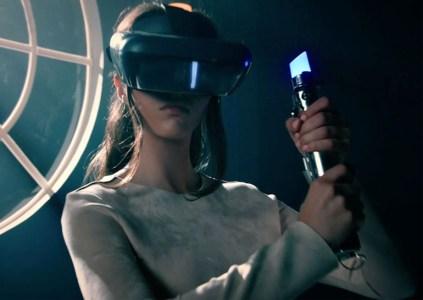 Disney и Lenovo подготовили шлем дополненной реальности и контроллер в виде светового меча для проектов по вселенной Star Wars
