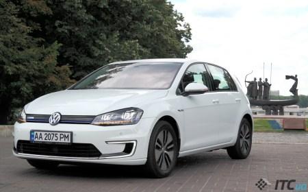 Volkswagen e-Golf: эталон для электромобилей? Не совсем…