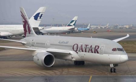 Qatar Airways совершила первый рейс в Украину