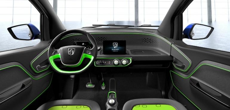 Китайский электромобиль Baojun E100 стоимостью $5,3 тыс. обладает запасом хода до 155 км
