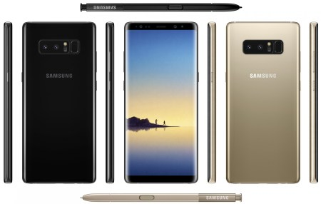 Samsung опубликовала два новых рекламных ролика Galaxy Note8