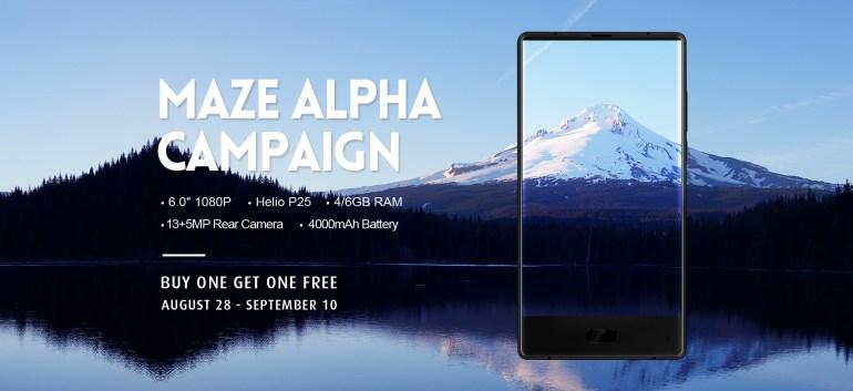 Смартфон Maze Alpha с 6 ГБ ОЗУ доступен для предзаказа