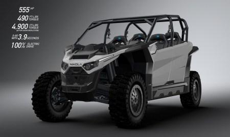 Nikola Motor раскрыла финальные характеристики электрического багги Nikola Zero: мощность до 555 л.с., батареи до 125 кВтч, влагозащита IP67 и ценник от $35 тыс.