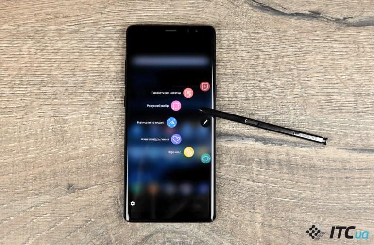 Первый взгляд на Samsung Galaxy Note8