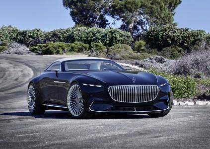 Немцы представили премиальный электрический кабриолет Vision Mercedes-Maybach 6 Cabriolet с мощностью 750 л.с. и запасом хода 500 км