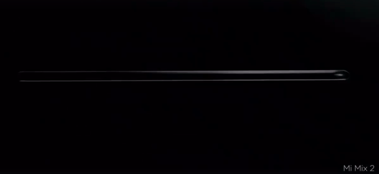 Создатель Xiaomi Mi Mix Филипп Старк показал дизайн новой модели Xiaomi Mi Mix 2 [видео]