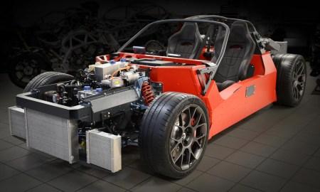 Британский автопроизводитель Ariel в 2020 году запустит в серию электрический суперкар HIPERCAR мощностью 1200 л.с. с газотурбинным «удлинителем хода»