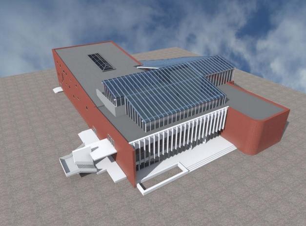 Организация «Киевский IT-кластер» и КГГА разработали проект реконструкции оболонского кинотеатра «Братислава» с созданием Центра развития предпринимательства