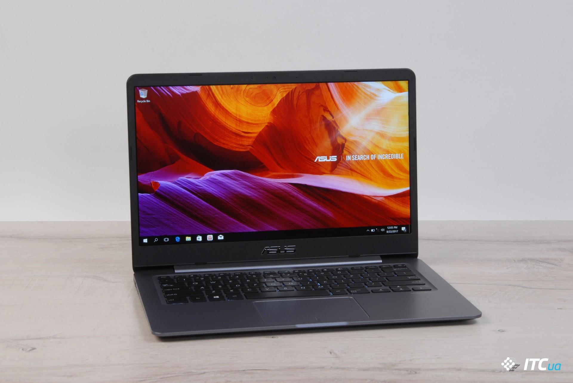 """Обзор ASUS VivoBook S14 (S406UА): 14"""", 1,2 кг и новые Intel"""