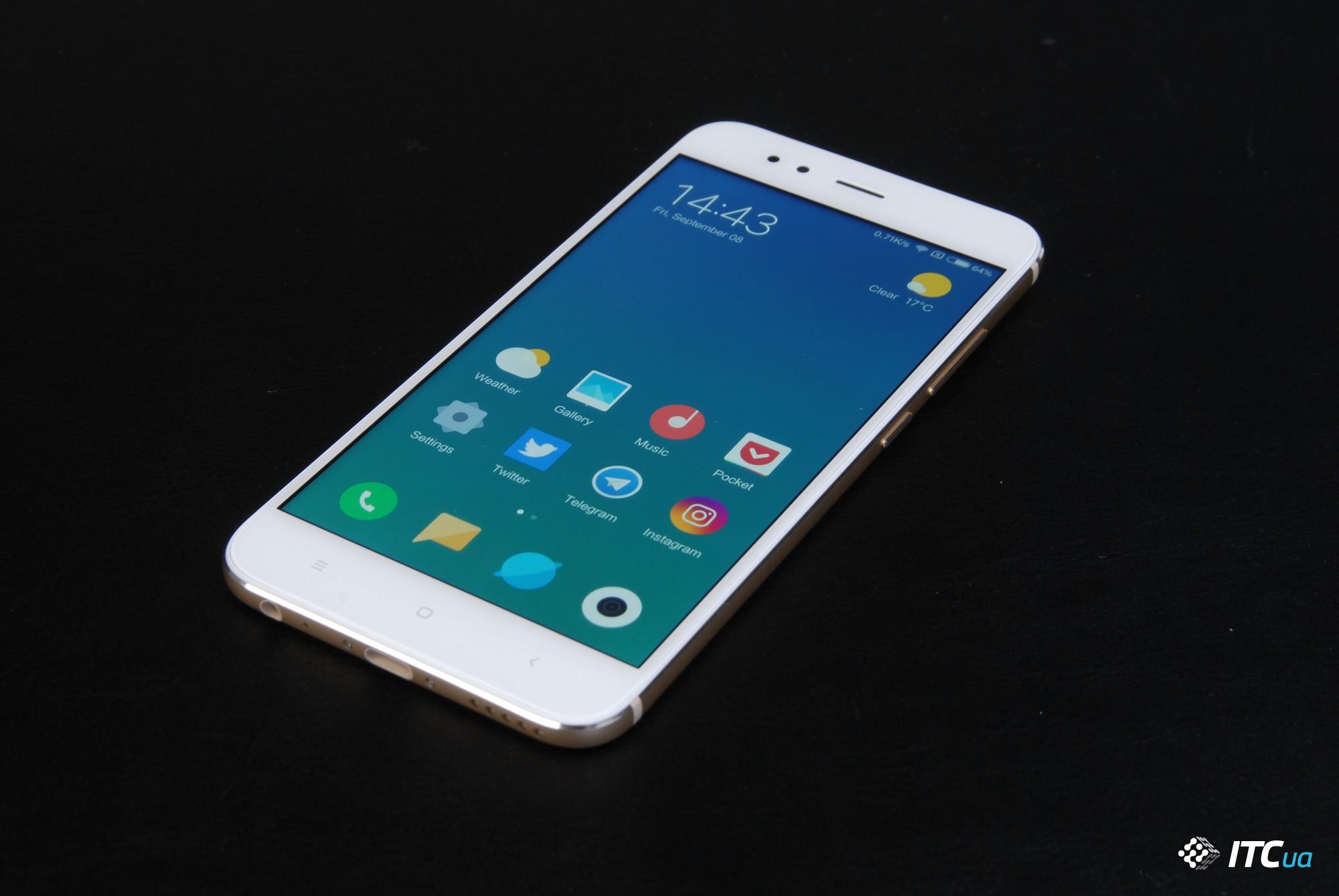 Обзор Xiaomi Mi 5X - ITC.ua