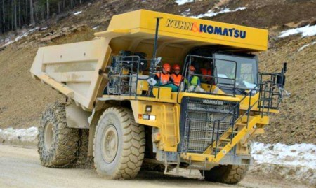 Швейцарцы создали 45-тонный электросамосвал E-Dumper с батареей рекордной емкостью 700 кВт⋅ч