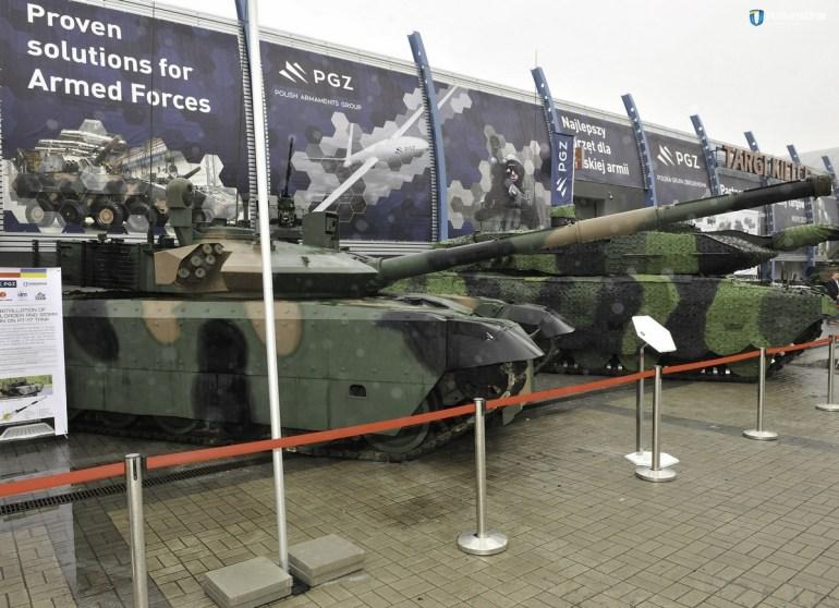 """""""Укроборонпром"""" совместно с польской компанией """"Bumar-Labedy"""" разработал танк PT-17, который является глубокой модернизацией модели Т-72 по стандартам НАТО"""