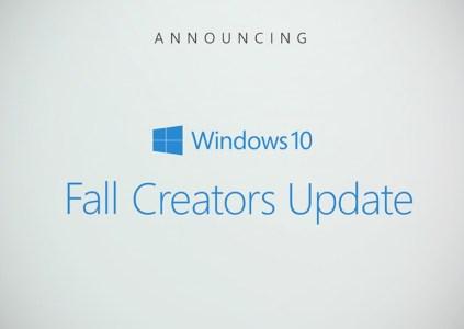 Выпуск обновления Windows 10 Fall Creators запланирован на 17 октября