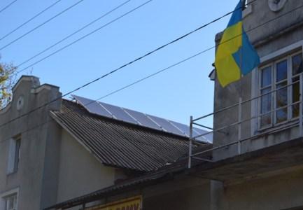 В Ивано-Франковской области объединенная община начала переводить на солнечную энергию бюджетные здания и школы в селах