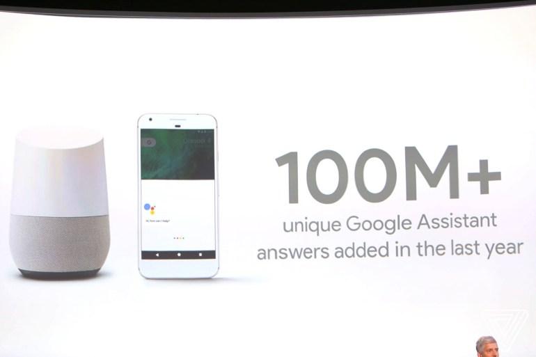 Google продал 55 млн медиаплееров Chromecast и ответил на 100 млн уникальных вопросов с помощью голосового помощника Google Assistant