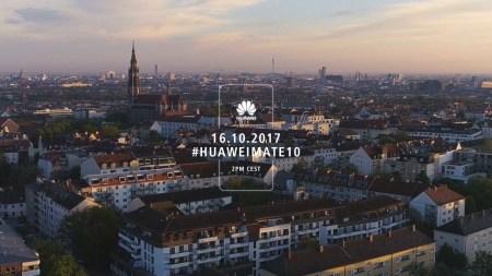Прямая трансляция с презентации Huawei Mate 10 в Мюнхене (завершена)