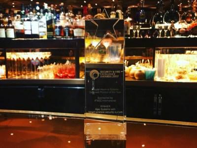 Охранная система украинского стартапа Ajax Systems получила престижную премию IFSEC