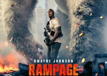 Опубликован трейлер фильма «Рэмпейдж» со Скалой на основе одноимённой аркады 80-х годов