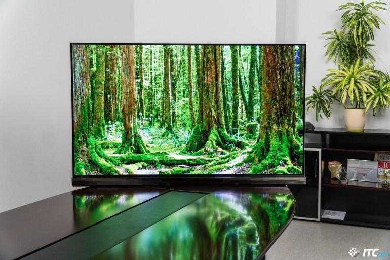 Обзор OLED-телевизора LG OLED65G7V
