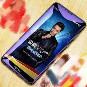 В сеть попала первая фотография смартфона Huawei Honor V10, подтверждающая безрамочный дизайн и «удлиненный» экран 18:9