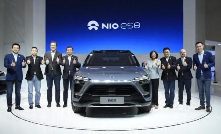 Перед стартом серийного производства электрокроссовер NIO ES8 прошел 2 млн километров дорожных тестов в Китае, США, Европе и Австралии  [видео]