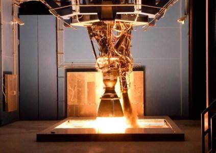 Ракетный двигатель SpaceX Merlin взорвался на испытаниях