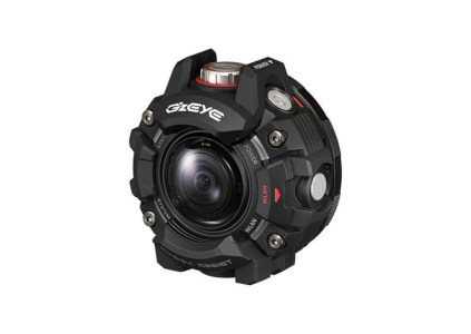 «Как часы G-Shock с объективом»: Представлена защищённая экшн-камера Casio G'z Eye GZE-1