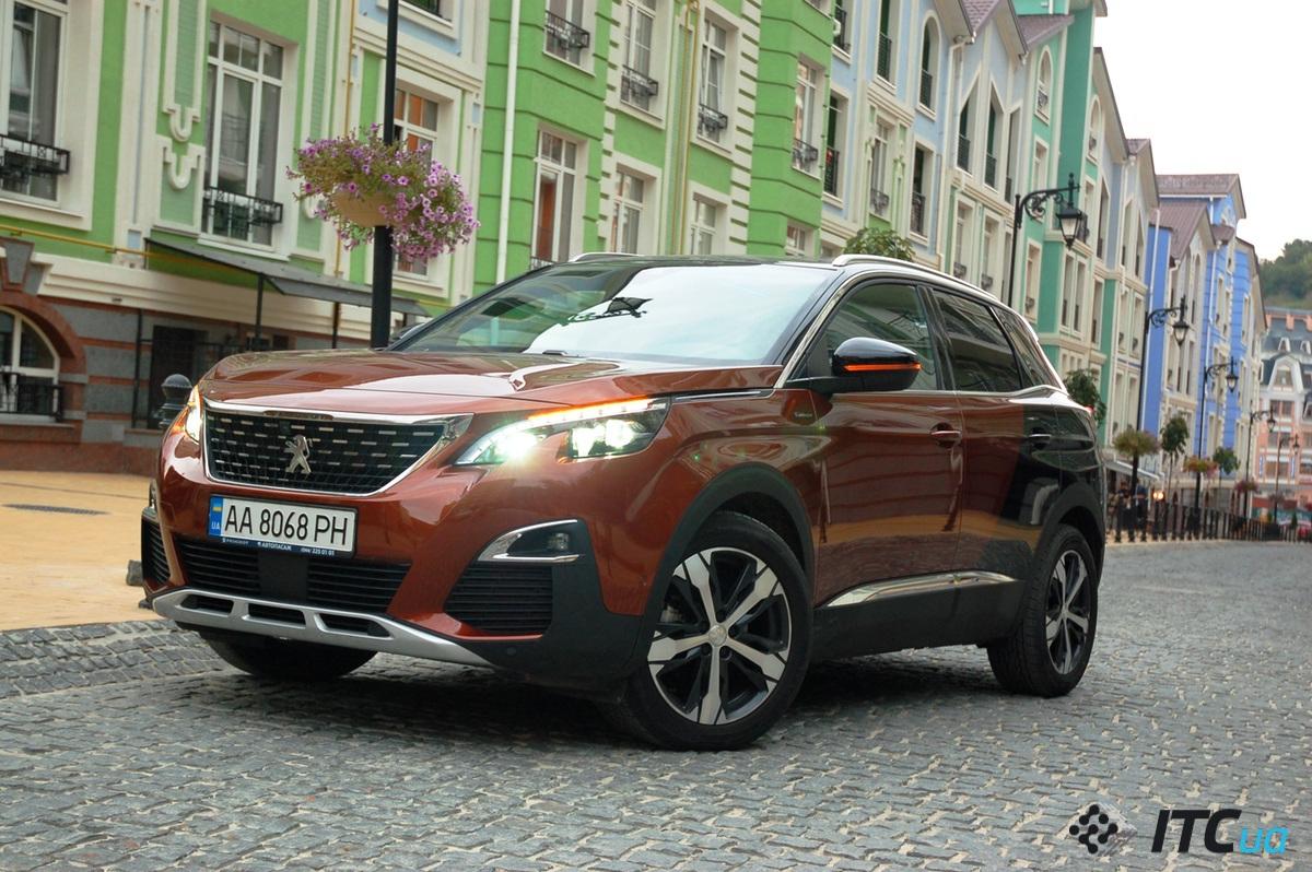 Радуемся яркости кроссовера Peugeot 3008 - ITC.ua